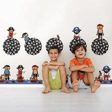 Kids Argh Pirates Wall Decal