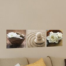 Euro Zen Panoramic Wall Decal