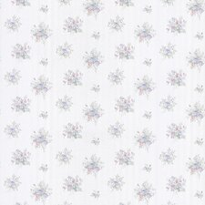"Satin Rose 33' x 20.5"" Toss Floral Embossed Wallpaper"