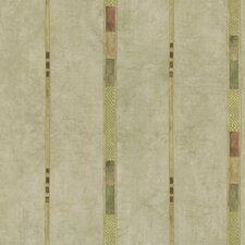 "Kitchen and Bath Resource II 33' x 20.5"" Stripe Embossed Wallpaper"