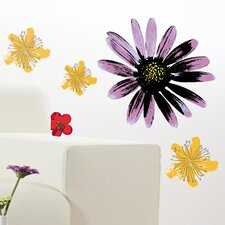 Spirit Painted Flowers Wall Decal