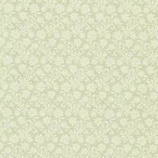 "Dollhouse Dionysia Jacobean 33' x 20.5"" Floral and Botanical Embossed Wallpaper"