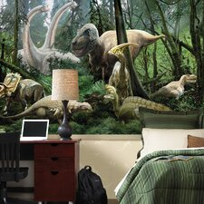 National Geographic Dinosaurs Wall Mural
