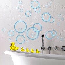 Euro Bubble Ducks Wall Decal