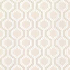 "Kitchen & Bath Resource III Marina Modern 33' x 20.5"" Geometric Embossed Wallpaper"