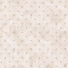 "Pure Country Cindy Berry Spot Toss 33' x 20.5"" Floral and botanical Embossed Wallpaper"