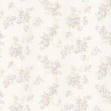 "Bath Bath Bath Volume IV Roesia Rose Trail 33' x 20.5"" Wallpaper"