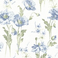 "Beacon House Home Joliet Floral 33' x 20.5"" Wallpaper"