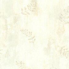 "Echo Lake Lodge Fern Cottage Leaf Toss 33' x 20.5"" Wallpaper"