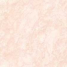 "For Your Bath II 33' x 20.5"" Rosetta Blush Texture Wallpaper"