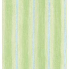Kidding Around Painted Stripes Wallpaper