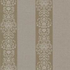 "Buckingham Nash 33' x 20.5"" Floral and Botanical Embossed Wallpaper"
