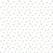 """Dollhouse Elyse Mini Toss 33' x 20.5"""" Floral and Botanical Embossed Wallpaper"""