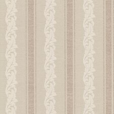 "Buckingham Rennie 33' x 20.5"" Stripes Embossed Wallpaper"