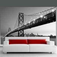 Ideal Décor San Francisco Skyline Wall Mural