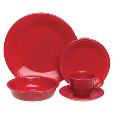 5 Piece Dinnerware Set