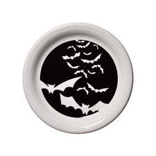 """6.63"""" Halloween Bats Appetizer Plate"""