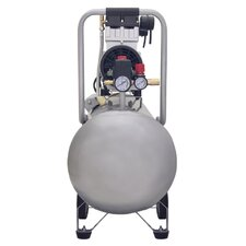 15020C Ultra Quiet & Oil-Free  2.0 Hp, 15.0 Gal. Steel Tank Air Compressor