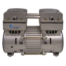 Industrial 1 Hp Ultra Quiet/Oil-Free Air Compressor Motor