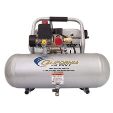 2 Gallon Ultra Quiet and Oil-Free 1 HP Aluminum Tank Air Compressor