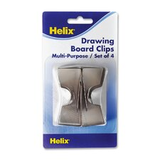 Drawing Board Clips (Set of 3)