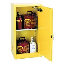 "44"" H x 23"" W x 18"" D 16 Gallon Flammable Liquid Safety Storage Cabinet"
