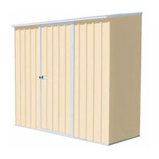 Spacesaver 7 Ft. W x 3 Ft. D Steel Tool Shed