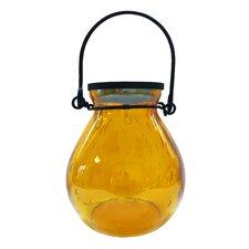 Bubble Glass Solar Hanging Lantern