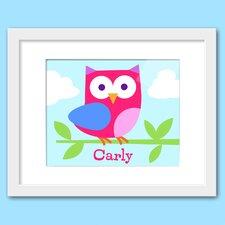 Birdie Personalized Framed Art