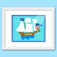 Pirates Personalized Framed Art