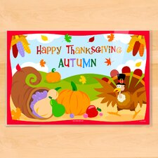 Thanksgiving Personalized Placemat