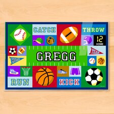 Game On Personalized Placemat