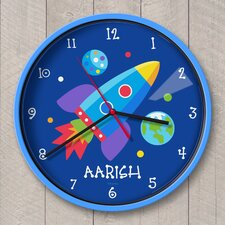 "12"" Out of This World Personalized Wall Clock"
