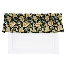 "Valerie Jacobean Floral Print Tailored 70"" Curtain Valance"