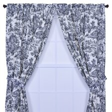 Victoria Park Toile Tailored Curtain Panels (Set of 2)