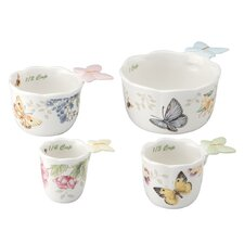 Butterfly Meadow 4 Piece Measuring Cup Set