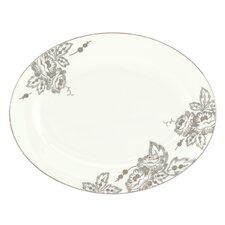 Floral Waltz Oval Platter