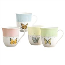 Butterfly Meadow Mug (Set of 4)