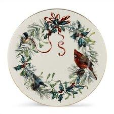 """Winter Greetings 10.75"""" Dinner Plate (Set of 6)"""