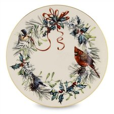 "Winter Greetings 8"" Salad Plate (Set of 6)"