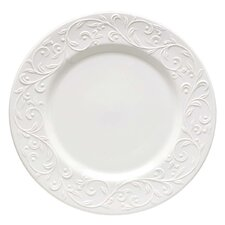 "Opal Innocence Carved 11.25"" Dinner Plate (Set of 4)"