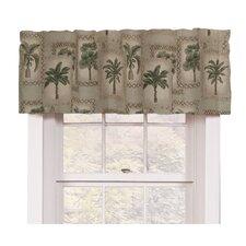 """Palm Grove 88"""" Curtain Valance"""