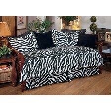 Zebra Cotton Bolster Pillow