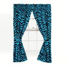 Zebra Cotton Drape Panels (Set of 2)