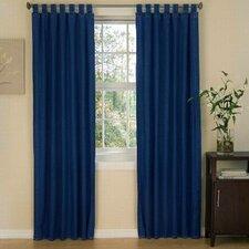 American Denim Cotton Tab Top Curtain Panels (Set of 2)