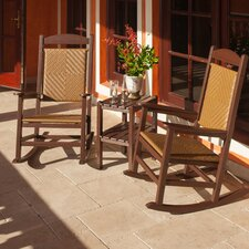 Presidential Woven 3 Piece Rocker Seating Group
