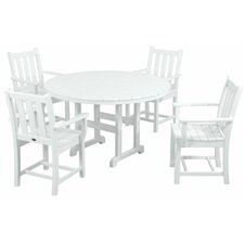 Traditional 5 Piece Garden Dining Set