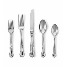 Valcourt 5 Piece Flatware Set