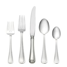 Sterling Silver Old French 46 Piece Dinner Flatware Set