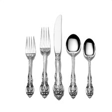 Sterling Silver La Scala 46 Piece Flatware Set